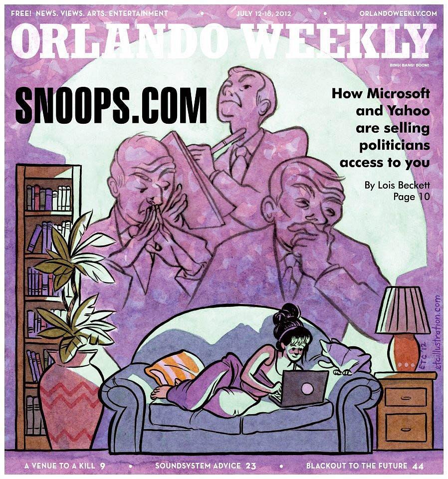 cover, Orlando Weekly
